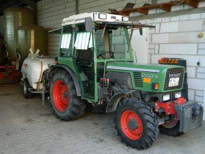 Gästehaus-Borniger Traktor