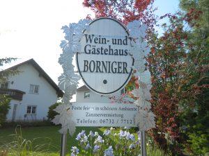Frontschild Gaestehaus-Borniger